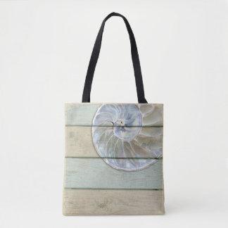 Tote Bag Nautilus Shell