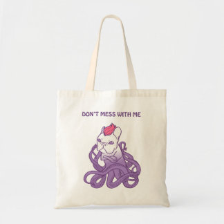 Tote Bag Ne salissez pas avec moi la conception de Frenchie