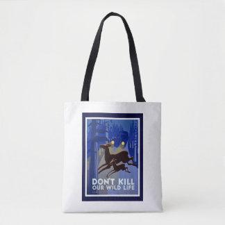 Tote Bag Ne tuez pas notre faune Fourre-tout
