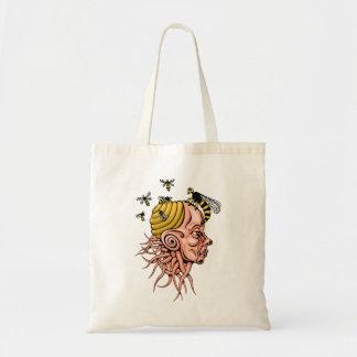 Tote Bag nid de guêpe - conception principale de forme