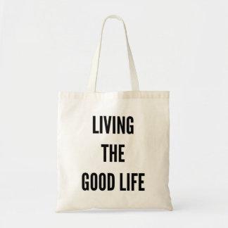 Tote Bag Noël vivant la bonne vie hanoukka fourre-tout