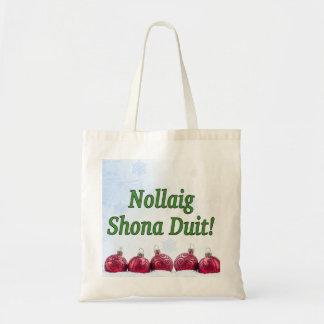 Tote Bag Nollaig Shona Duit ! Joyeux Noël dans le gf