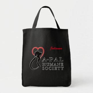 Tote Bag Nom de coutume de logo d'A-PAL