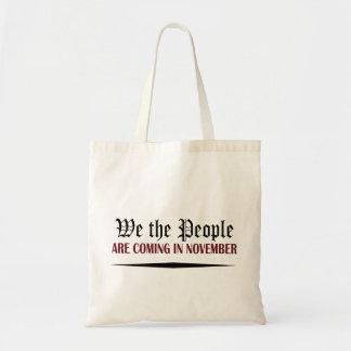 Tote Bag Nous les personnes venons en novembre