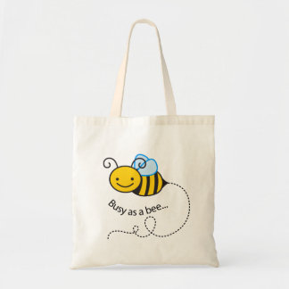 Tote Bag Occupé comme abeille