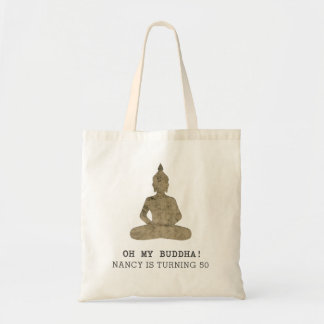 Tote Bag Oh ma silhouette drôle de Bouddha