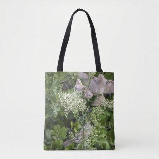 Tote Bag Oiseaux et plantes