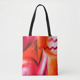 Tote Bag Oncle Virgil Abstract Fourre-tout d'horizon du