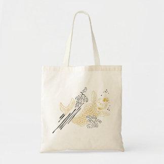 Tote Bag Or CHANCEUX de KOI KOI