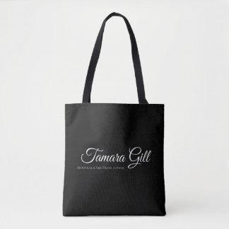Tote Bag Ouïe de Tamara tout plus de - imprimez le noir de