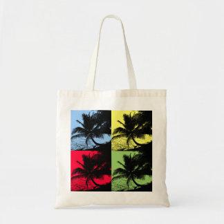 Tote Bag Palmiers et eau