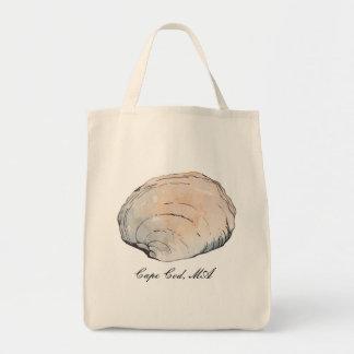 Tote Bag Palourde en pastel personnalisée Shell