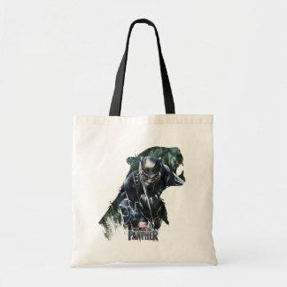 Tote Bag Panthère noire | dans la jungle