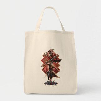 Tote Bag Panthère noire | Nakia et graphique d'Okoye