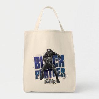 Tote Bag Panthère noire | T'Challa - graphique de panthère