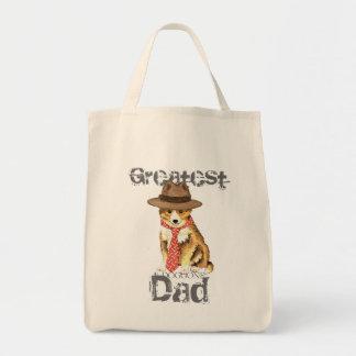 Tote Bag Papa de Sheltie