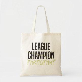 Tote Bag Participant de Ligue de Football d'imaginaire