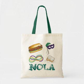 Tote Bag Partie Fourre-tout de mardi gras de NOLA la
