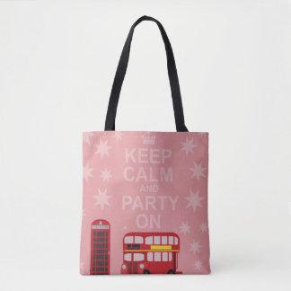 Tote Bag Partie sur le style anglais