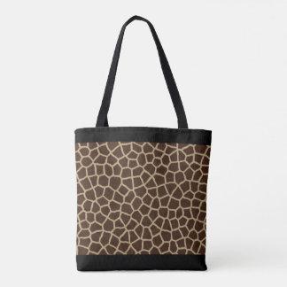 Tote Bag Partout copie de girafe
