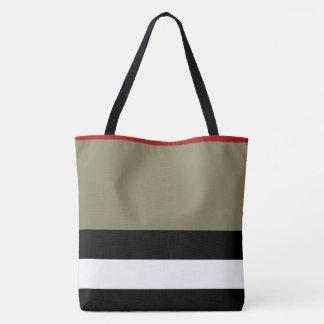 Tote Bag Partout copie grand Fourre-tout - rayure rouge