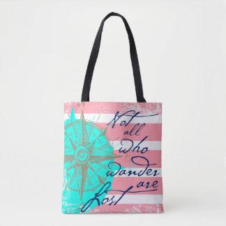 Tote Bag Pas tous ce que Wander sont perdu
