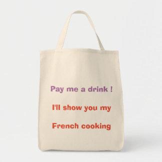 Tote Bag Payez-moi une boisson !