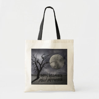 Tote Bag Paysage éffrayant Halloween - budget Fourre-tout