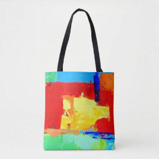 Tote Bag Paysage urbain abstrait Fourre-tout d'Albuquerque