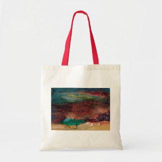 Tote Bag Peinture à l'huile d'abrégé sur trésor de mer