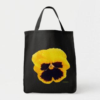 Tote Bag Pensée jaune