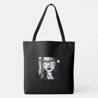 """Tote Bag """"Pensées d'une jeune femme"""" Fourre-tout"""