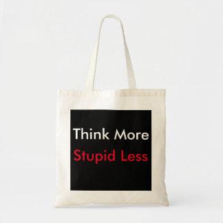 Tote Bag Pensez plus de budget fourre-tout
