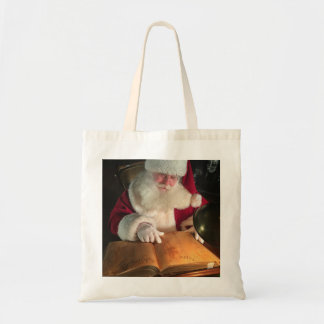 Tote Bag Père Noël regardant Fourre-tout vilain et Nice