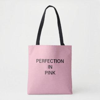 Tote Bag PERFECTION DANS le client ROSE