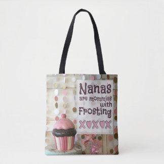 Tote Bag Personnaliser-Nana sont des mères avec le givrage