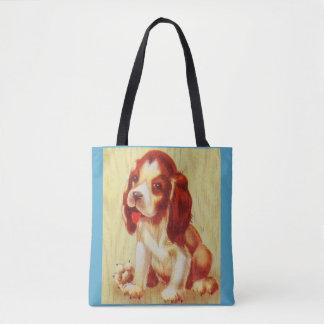 Tote Bag petit chiot mignon de beagle