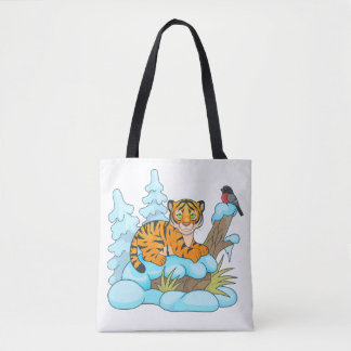 Tote Bag petit petit animal de tigre