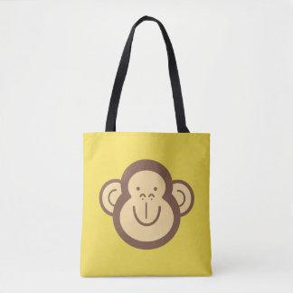 Tote Bag Petit visage mignon de singe