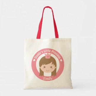 Tote Bag Petite princesse de papa mignon avec des filles