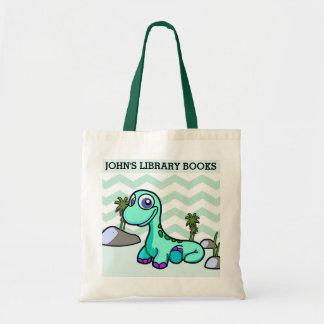 Tote Bag Peu de livres de bibliothèque de pied bougent le