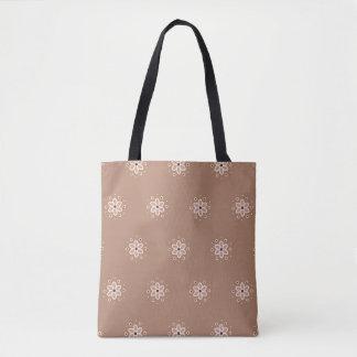 Tote Bag Peu marguerites roses poussiéreuses