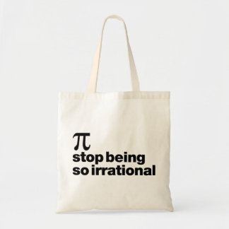 Tote Bag Pi irrationnel