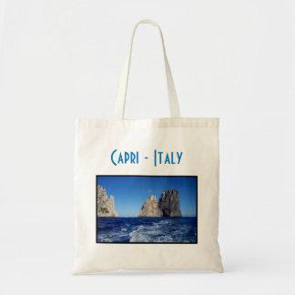 Tote Bag Piles de Faraglioni, île de Capri - Naples -