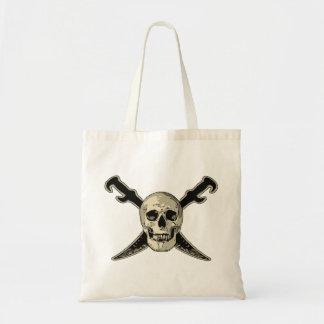 Tote Bag Pirate (crâne) - économisez le  de Fourre-tout