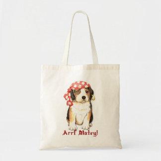 Tote Bag Pirate de beagle