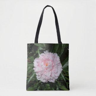 Tote Bag Pivoine de rose en pastel