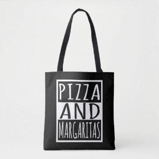 Tote Bag Pizza et margaritas
