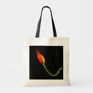 Tote Bag Plantes sur des emballages - fleur rouge de banane