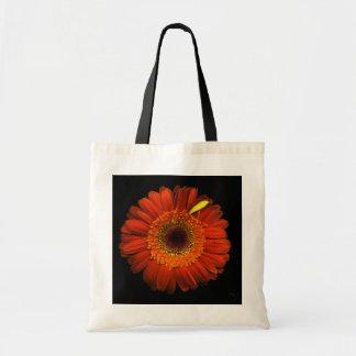 Tote Bag Plantes sur des emballages - marguerite orange